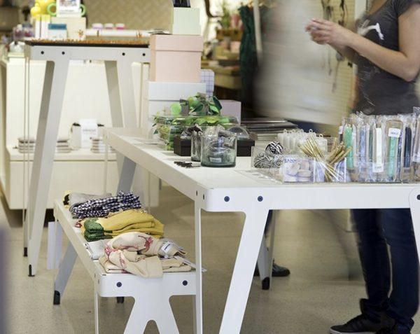 Lloyd High Table door Serener voor Functionals wit winkel