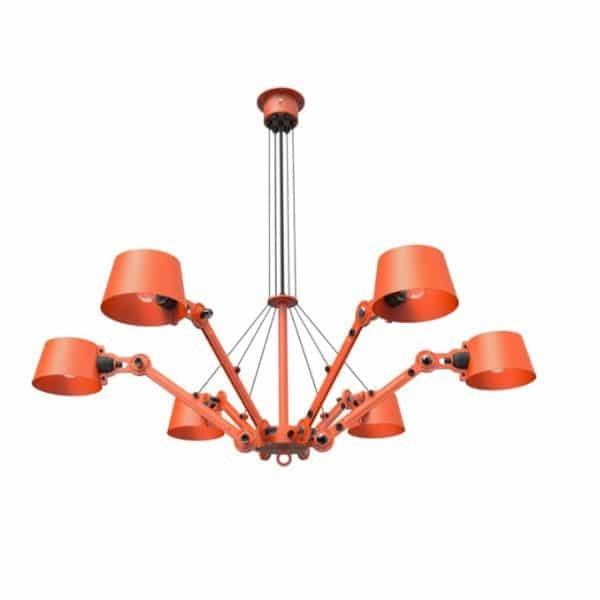 tonone oranje lamp plafond