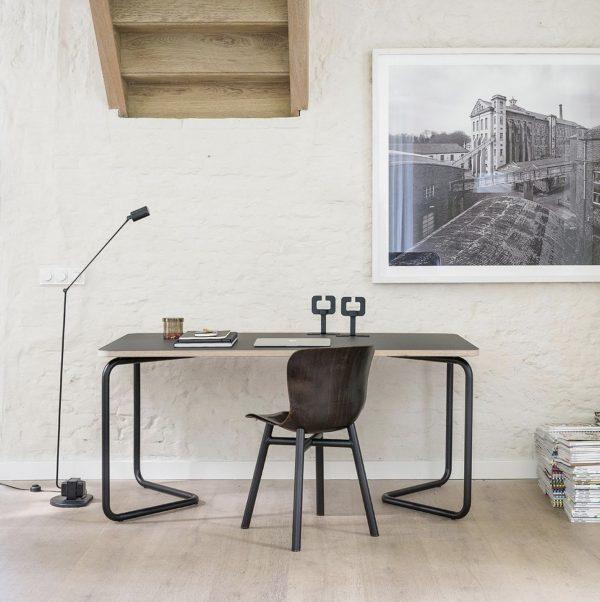 Wendela stoel functionals donker zwart bureau