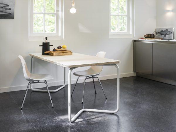 Functionals-KUMPEL-keukentafel-schragen-table-white-200X80