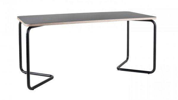 kumpel-functionals-tafel-bureau-160x80-zwart-zwart