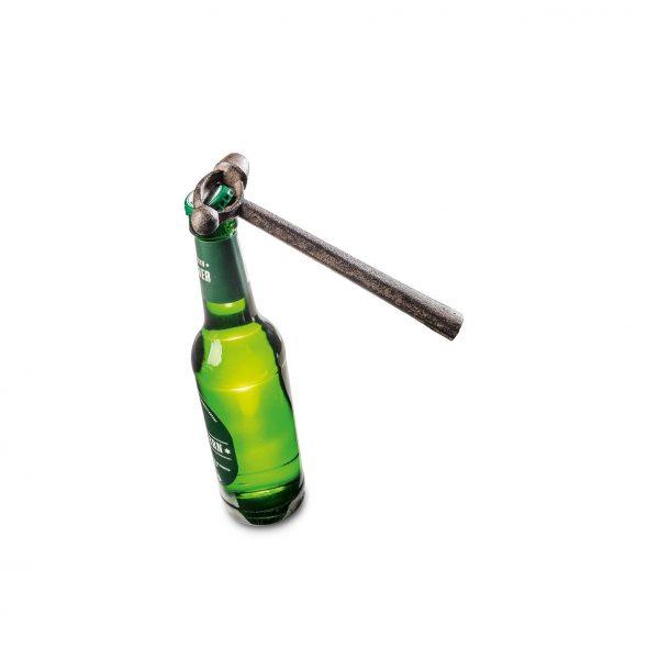 Gereedschap tool flesopener metaal einde werkdag