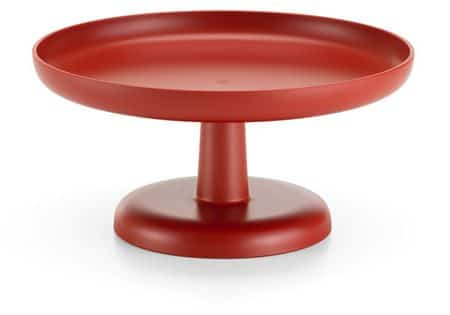 vitra high tray brick red