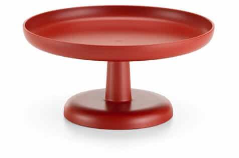 vitra high tray brick red