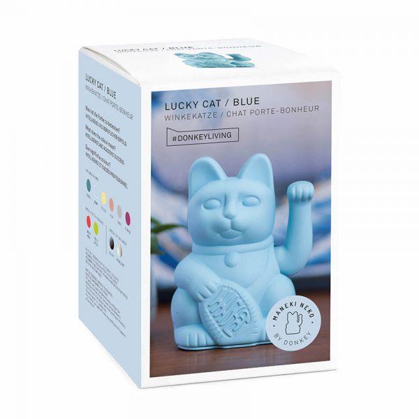Lucky Cat blauw Donkey