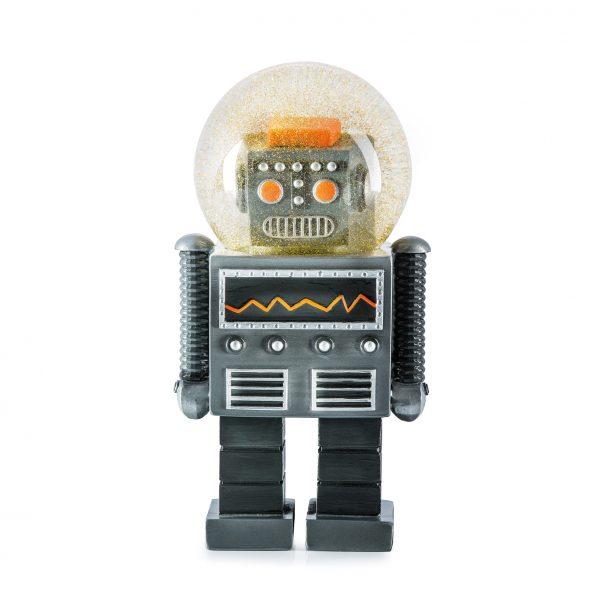 Glitter Robot Sneeuwbol the giant robot