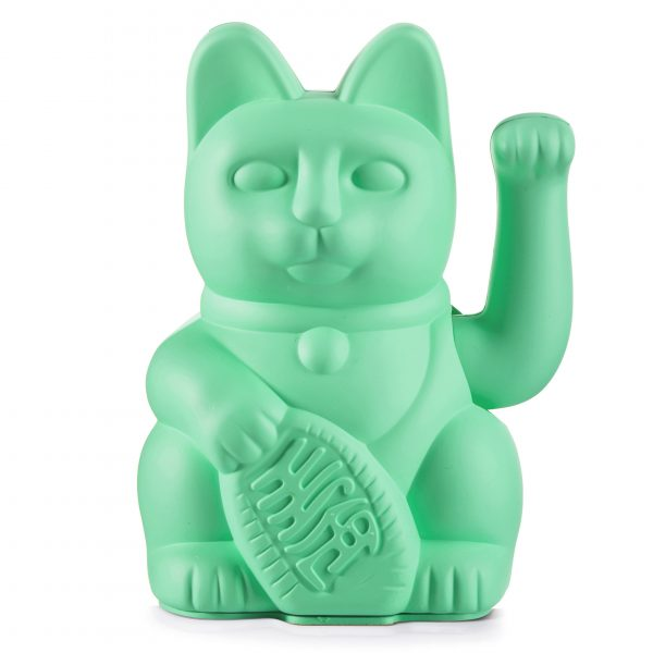 Lucky Cat Mint Groen Donkey