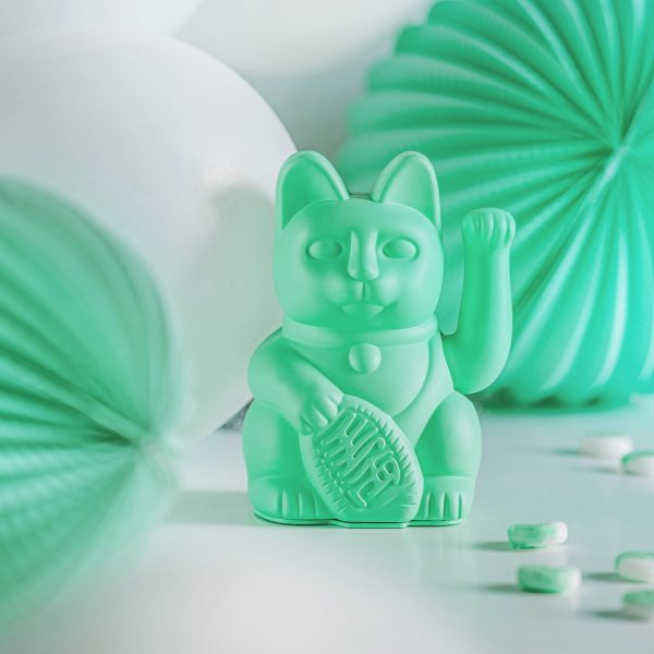 Lucky Cat Mint Groen Donkey