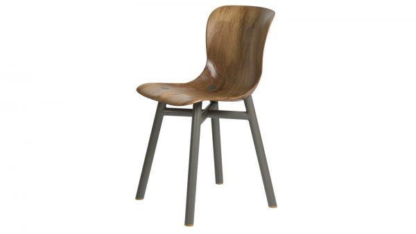 Wendela Functionals stoel naturel grijs