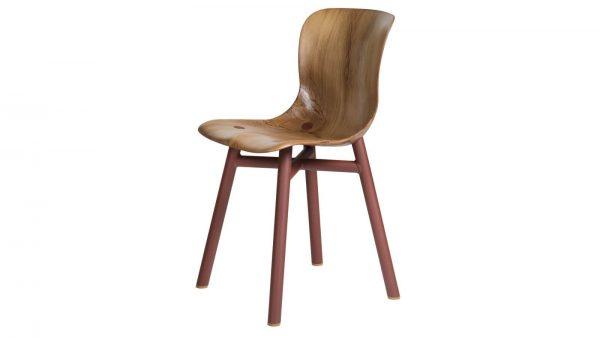 Wendela Functionals stoel naturel rust