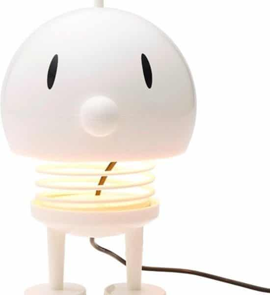 Hoptimist lamp bumble wit LED