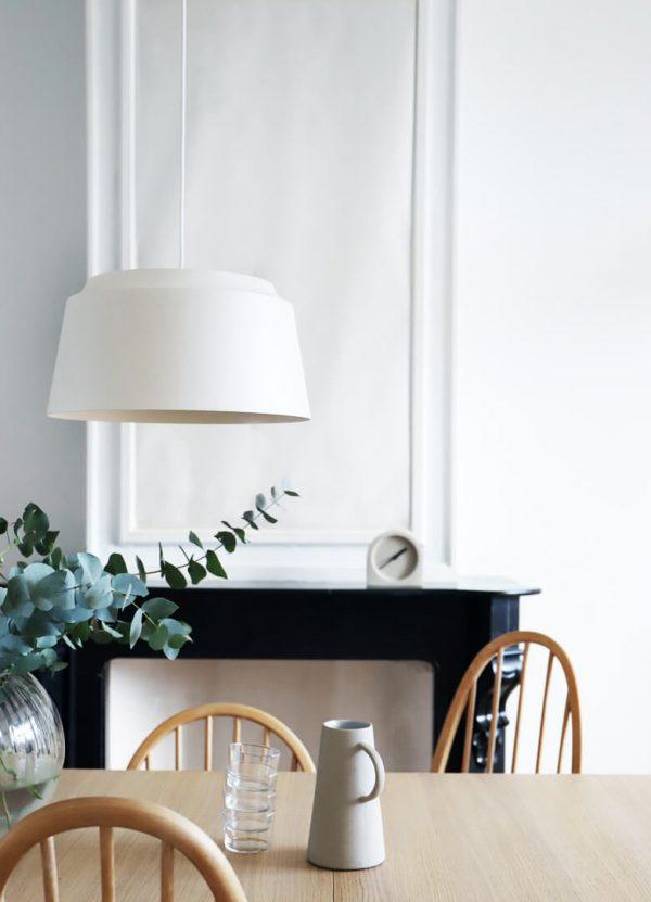witte groove hanglamp puikdesign
