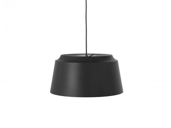 Puik- groove hanglamp zwart