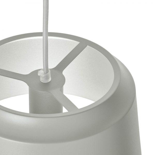 detail groove hanglamp grijs puikdesign