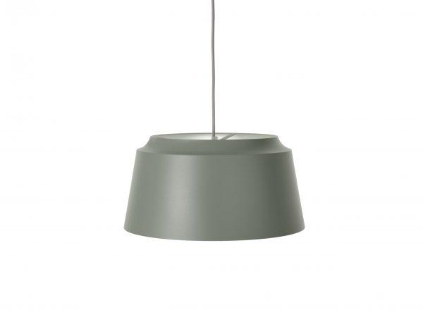 Puik- groove hanglamp groen