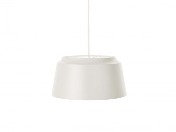 Puik-groove hanglamp wit
