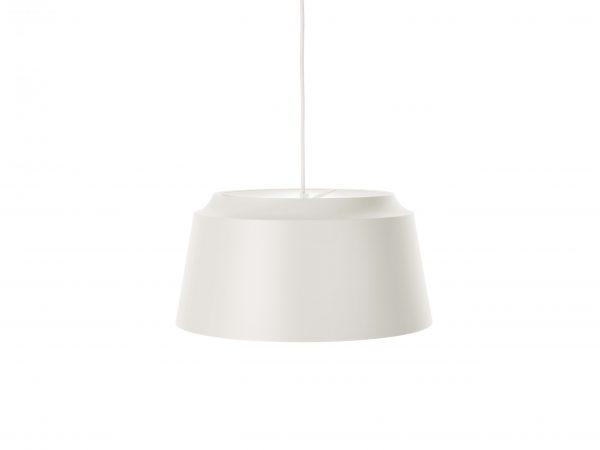 Puik-groove hanglamp wit