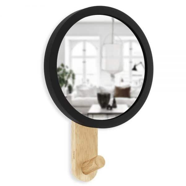 hub hook spiegel kapstok van umbra