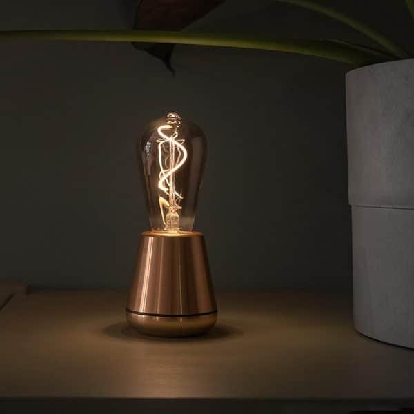 humble lamp gold