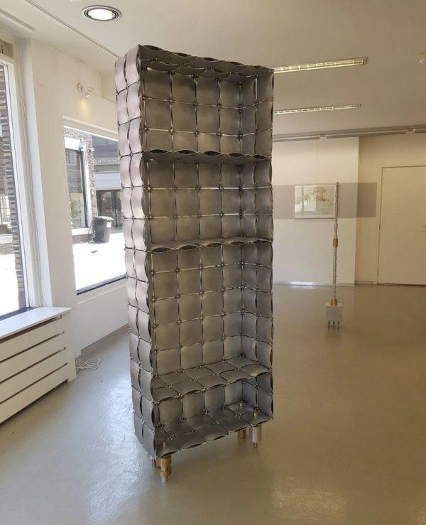 Design Kast Aluminium cabinet 2