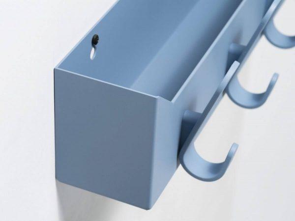 detail krok licht blauw