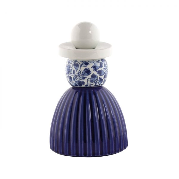Royal Delft Proud Mary 3 Cobalt Flower Pattern