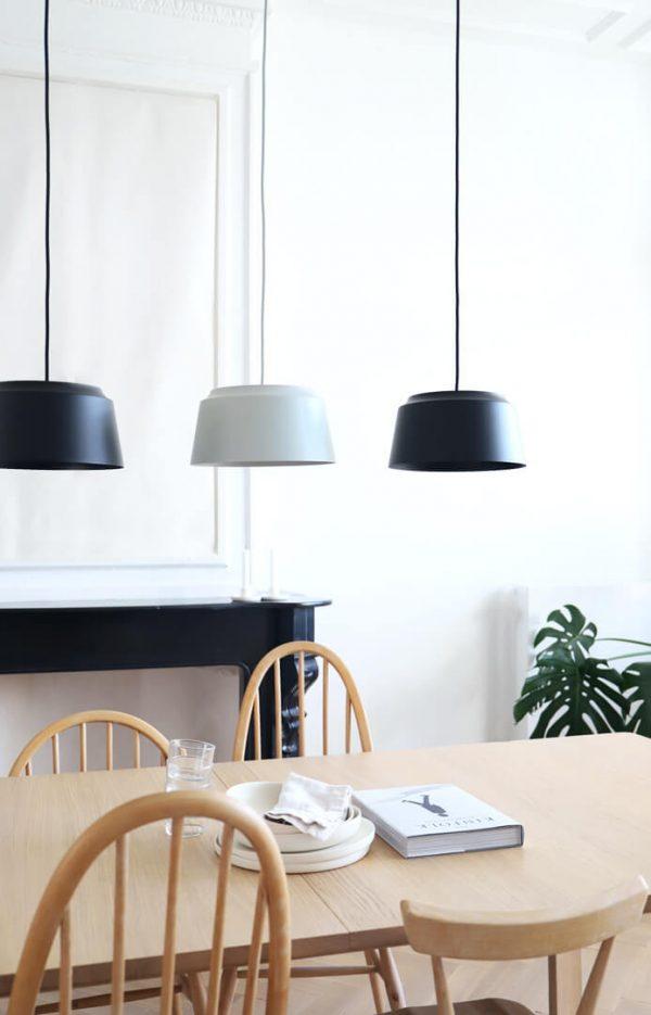 sfeer pruik design groove hanglampen