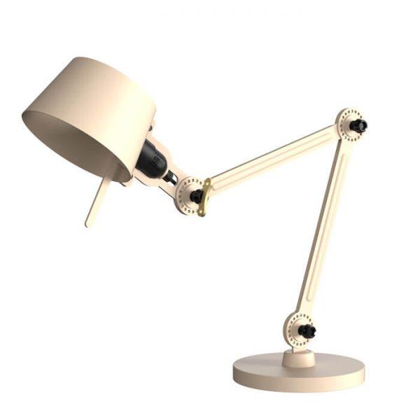 gebroken witte bureaulamp tonone