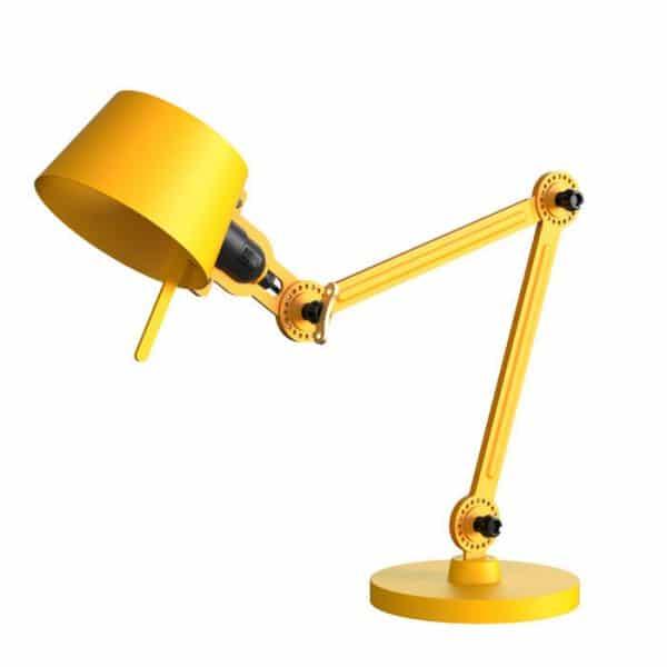 bolt desk lamp smal in geel