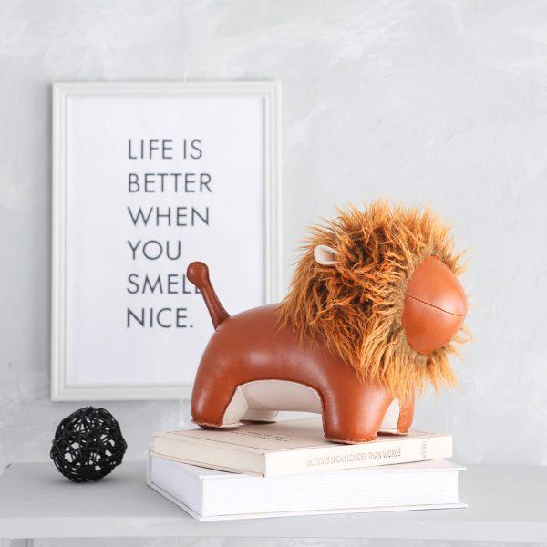 boekensteun leeuw zuny