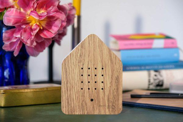 zwitscherbox huisje met vogelgeluiden