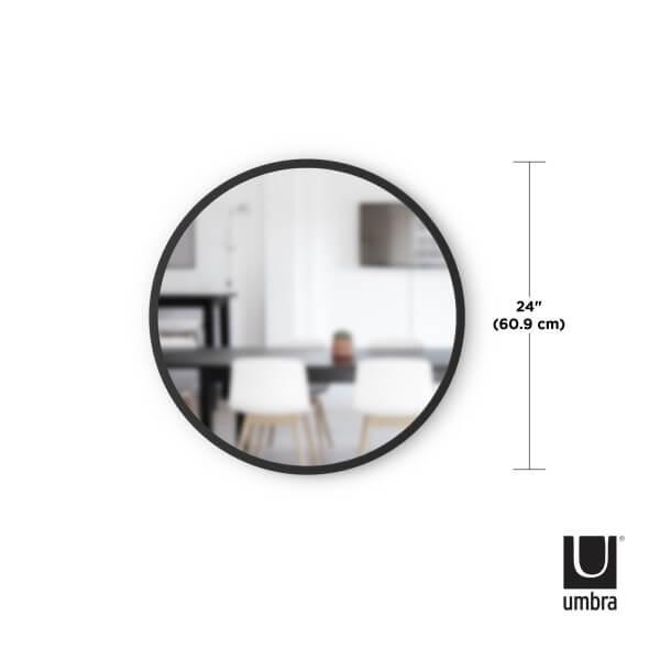 afmeting hub spiegel 46 cm