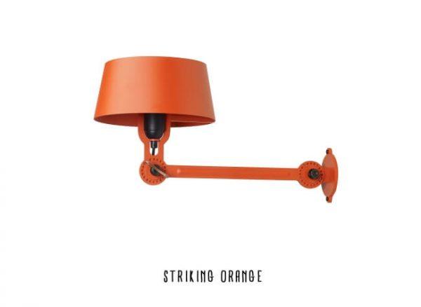 oranje wandlamp tonone bolt serie