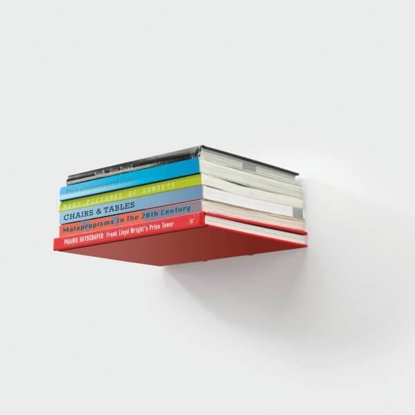 zichtloos ophangen boekenplank