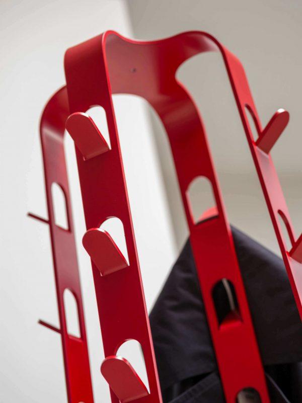 detailafbeelding dodici rood haken