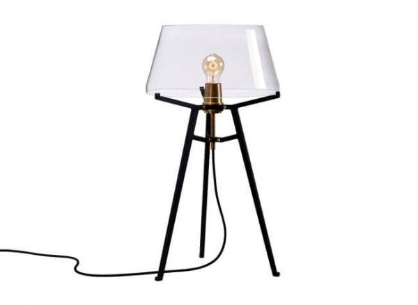 zwarte ella tafellamp van tonone