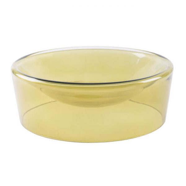 functionals schaal bowl groen glas