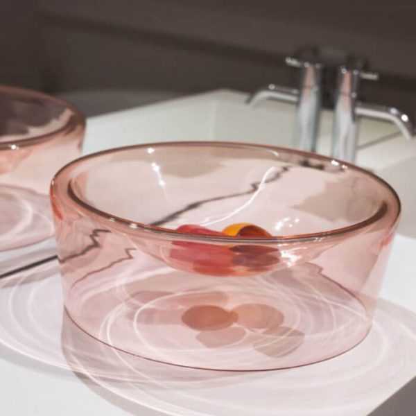 schaal roze functionals bowl