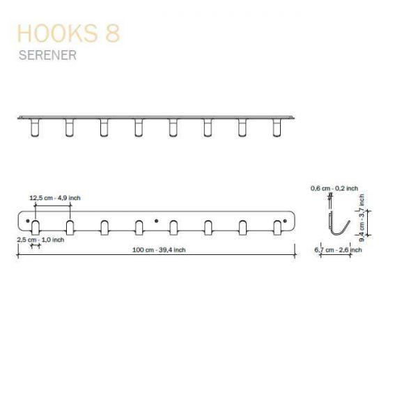 afmeting functionals hooks 8