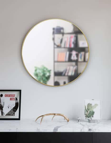 Hubba spiegel koper