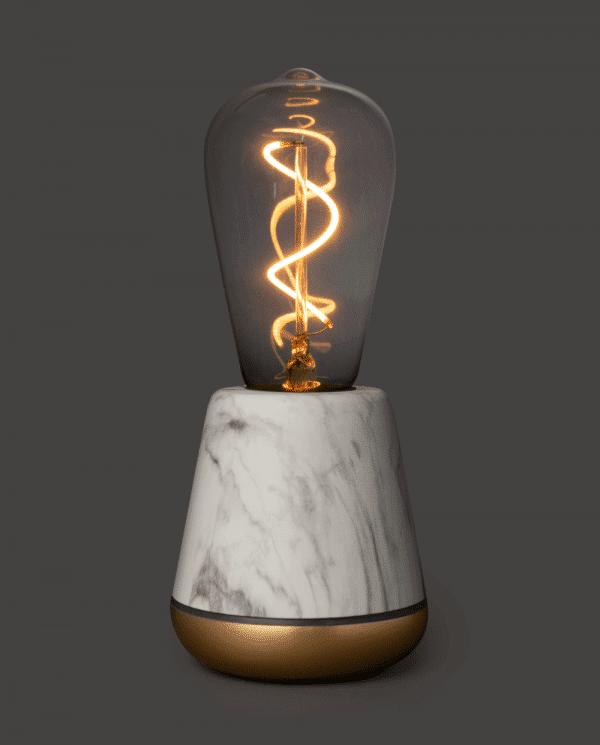 Humble marble oplaadbare lamp
