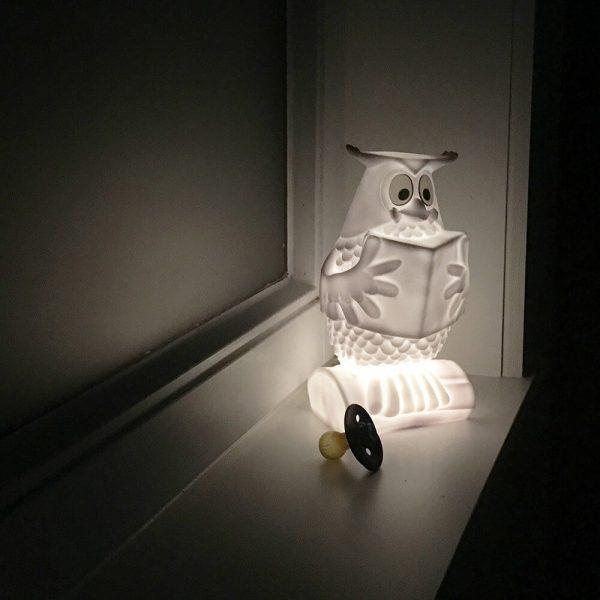 kinder lamp fabeltjeskrant meneer de uil