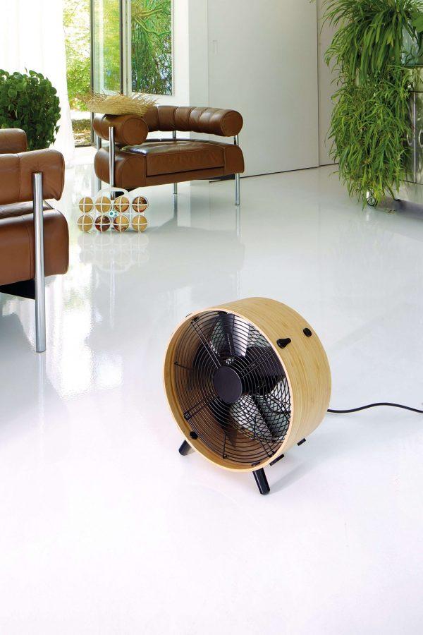 vloer ventilator design bamboe