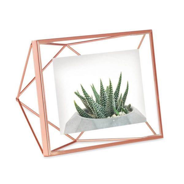 prisma fotolijst umbra copper