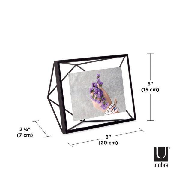 afmeting fotolijst prisma umbra zwart