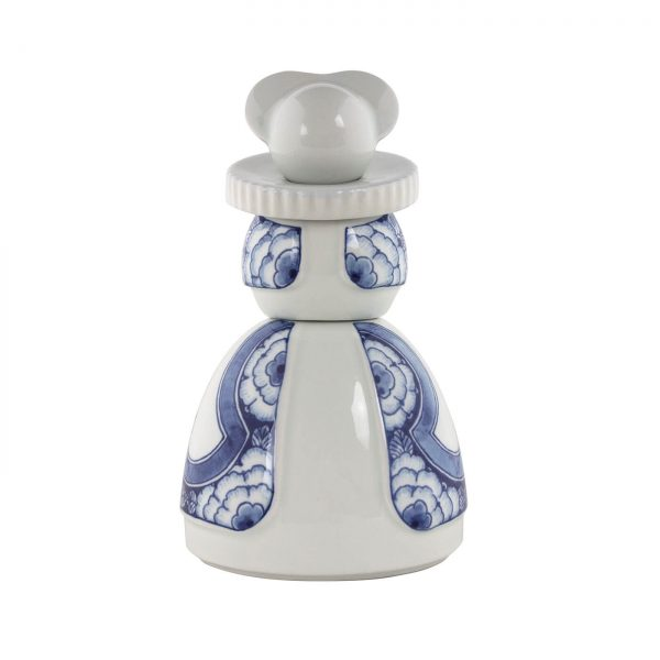 Royal Delft Proud Mary 5 Ribbon Flower By D-Sire
