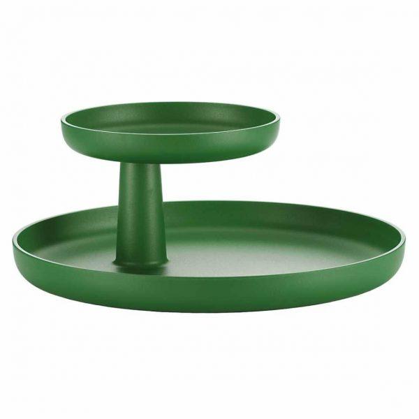 nieuwe kleur palm groen rotary tray van vitra