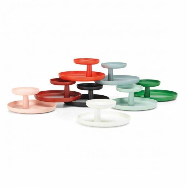 set kleuren vitra rotary tray schalen