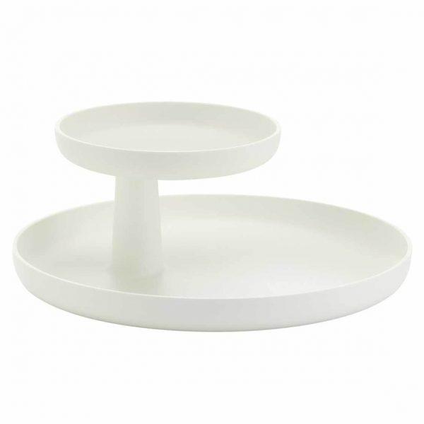 serveerschaal rotary van vitra in wit