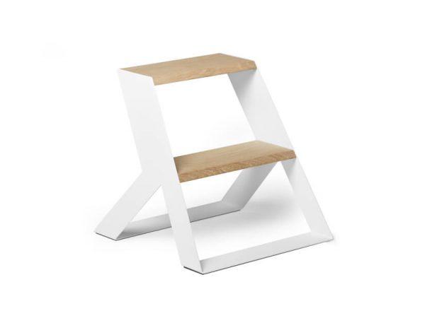 split step frederik roije met massief houten trede